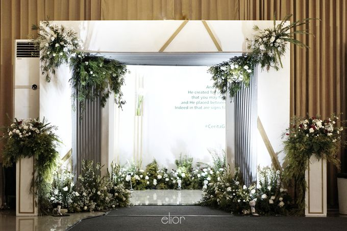 Simple Meets Elegant in This Dreamy Wedding Celebration by Elior Design - 006