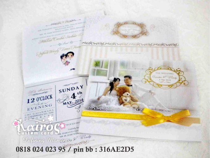 Candra & Wendy wedding invitation & stationery by Kairos Wedding Invitation - 002