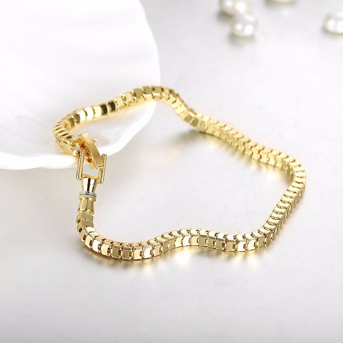 TIARIA Chain Gold Bracelet Perhiasan Gelang Emas by TIARIA - 001