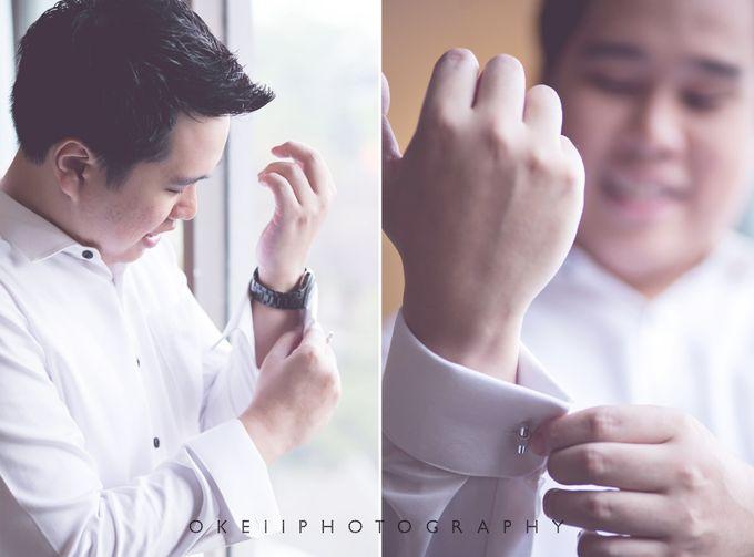 Alvin & Novi Wedding Day by Okeii Photography - 006