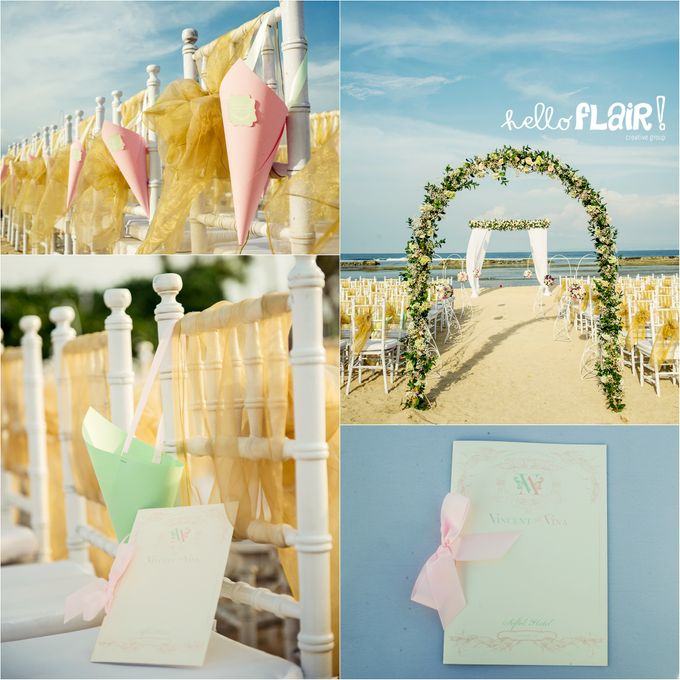 THE WEDDING OF VINCENT & VINA by Sofitel Bali Nusa Dua Beach Resort - 005