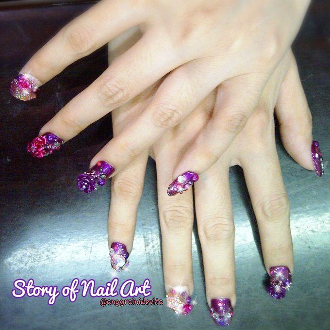 Fake Nails by Story of Nailart - 022