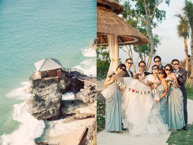 When Glamour Meets Nature at Sky Garden, Ayana Bali by Flying Bride - 019