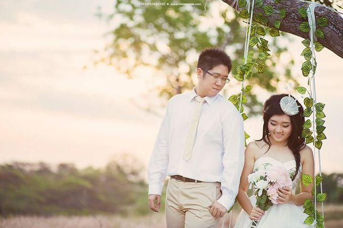 AGUS + IVANA Prewedding by Sandy by Marble Pixel - 001