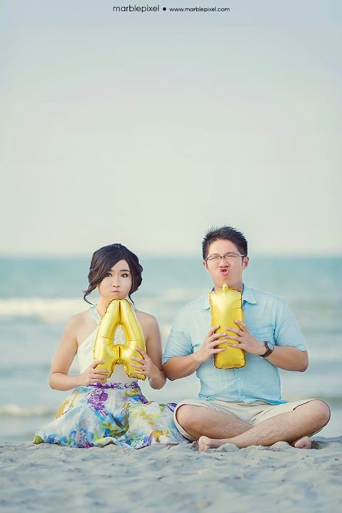 AGUS + IVANA Prewedding by Sandy by Marble Pixel - 026