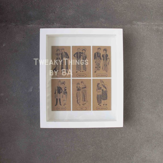 """The Bride and Groom"" Series - 1st edition, printed and framed by TweakyThings - 007"