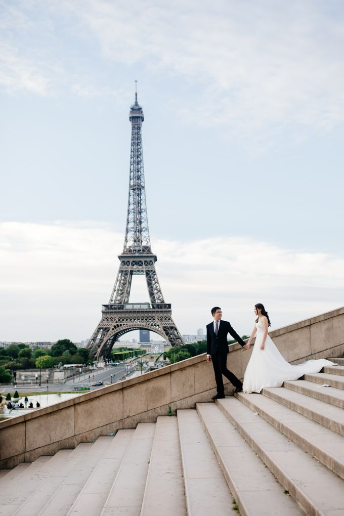 Paris Pre-wedding of Kailing & Ben by Natalie Wong Photography - 005