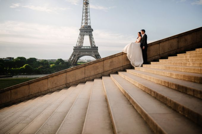 Paris Pre-wedding of Kailing & Ben by Natalie Wong Photography - 004