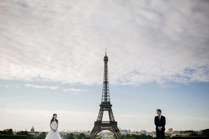 Paris Pre-wedding of Kailing & Ben by Natalie Wong Photography - 006