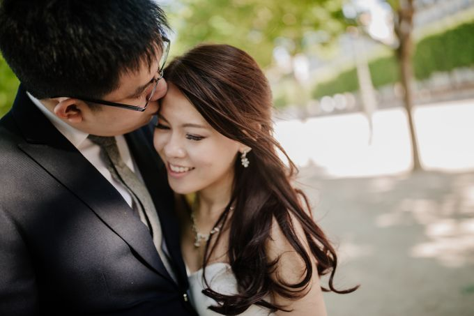 Paris Pre-wedding of Kailing & Ben by Natalie Wong Photography - 009