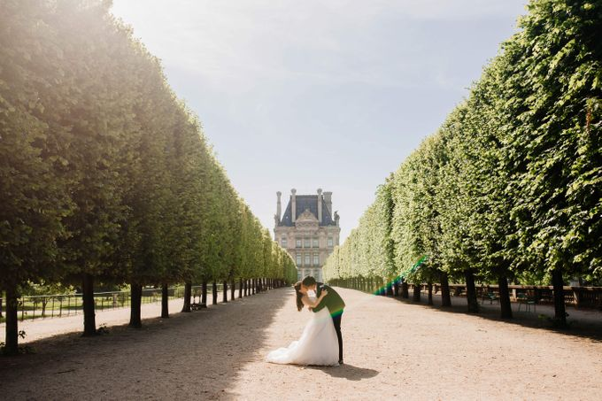 Paris Pre-wedding of Kailing & Ben by Natalie Wong Photography - 001