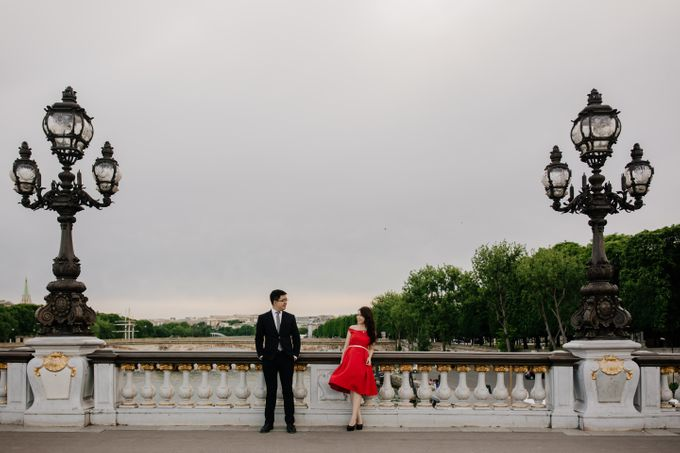 Paris Pre-wedding of Kailing & Ben by Natalie Wong Photography - 014