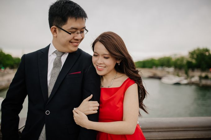 Paris Pre-wedding of Kailing & Ben by Natalie Wong Photography - 015