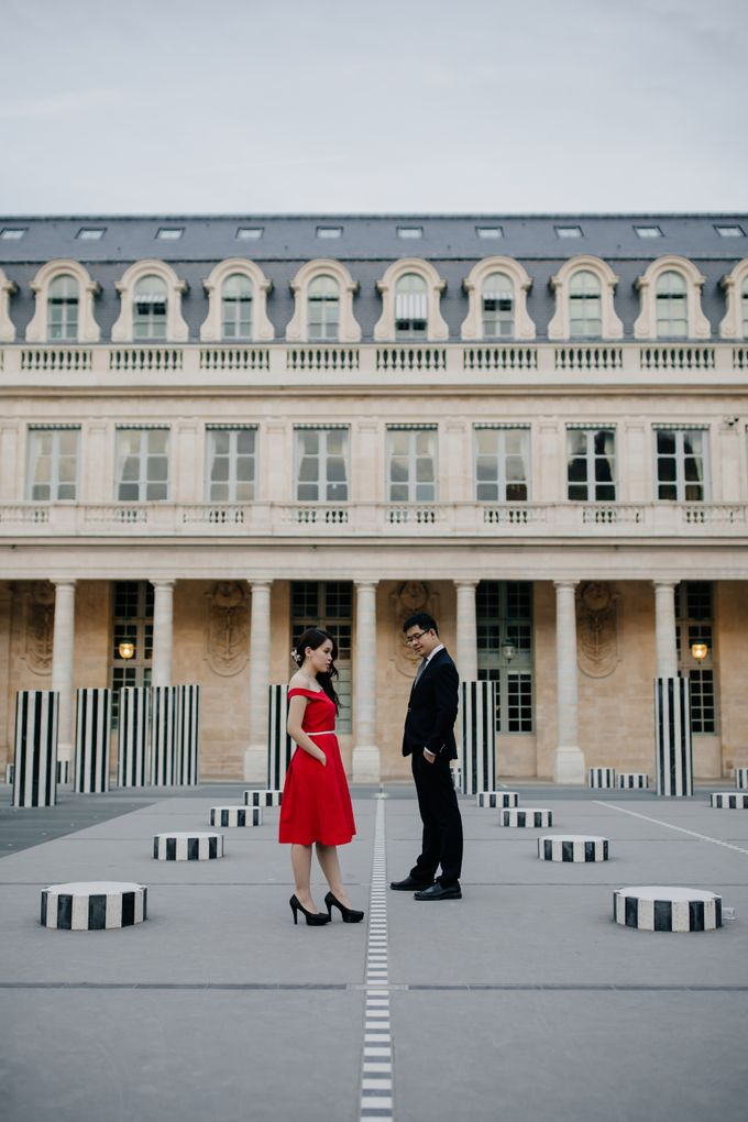 Paris Pre-wedding of Kailing & Ben by Natalie Wong Photography - 011