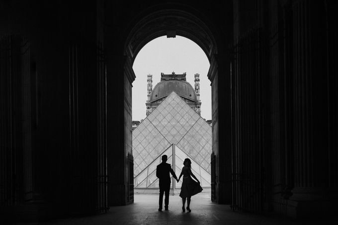 Paris Pre-wedding of Kailing & Ben by Natalie Wong Photography - 003