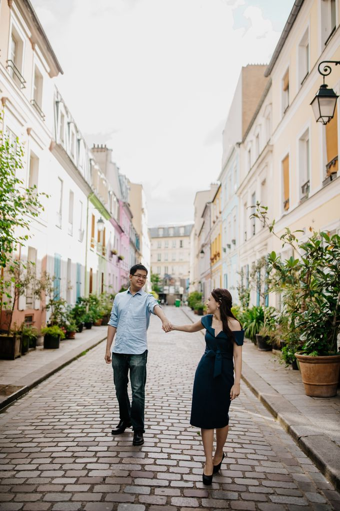 Paris Pre-wedding of Kailing & Ben by Natalie Wong Photography - 017