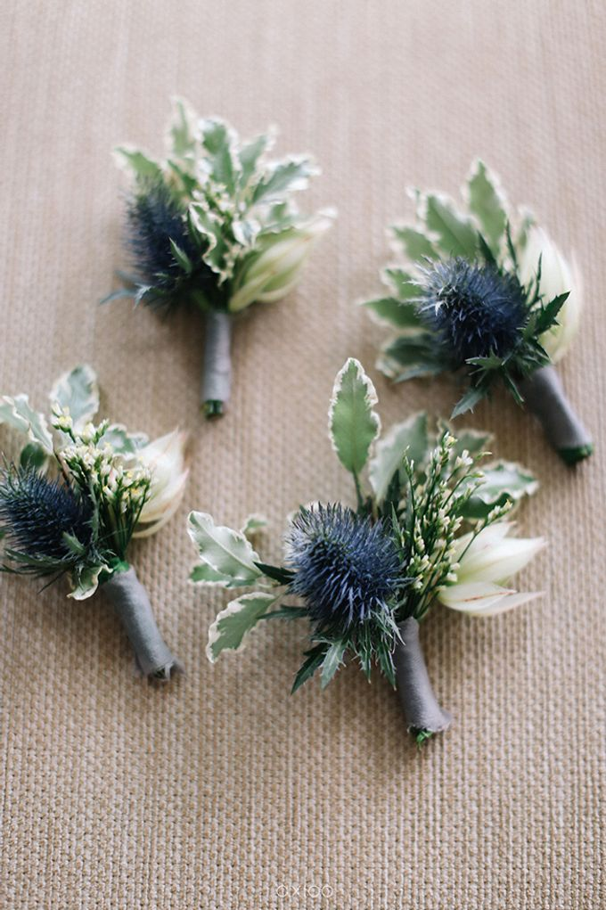 Villa Phalosa - Serene Dusty Blue Wedding by Flora Botanica Designs - 042
