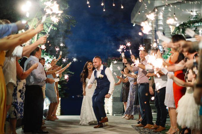 Bryce & Bonnie Wedding by KAMAYA BALI - 006