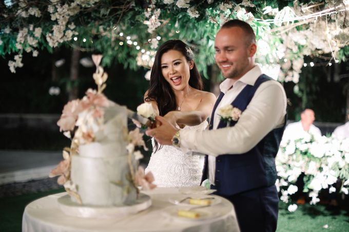 Bryce & Bonnie Wedding by KAMAYA BALI - 007