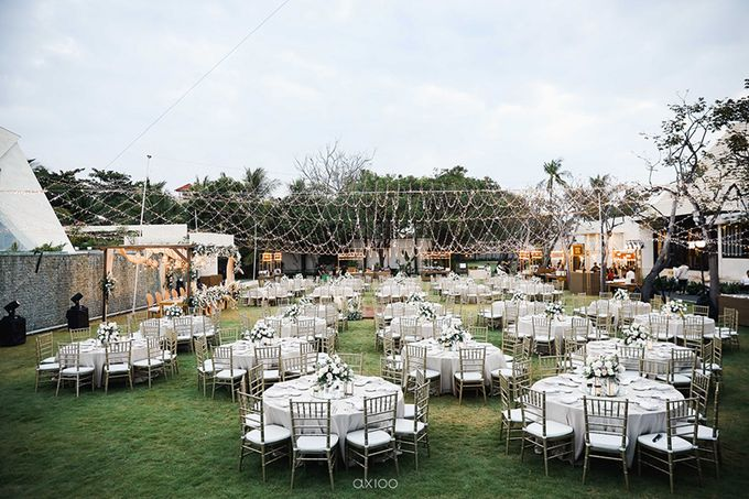 Romantic and Surprised Wedding by Magnifica Organizer - 028