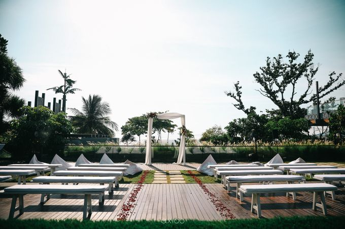 Modern Playful Wedding in Seminyak Bali by Silverdust Decoration - 012