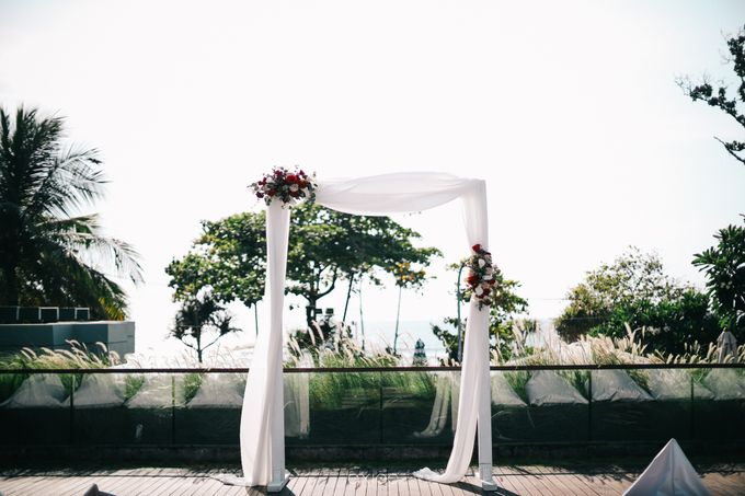 Modern Playful Wedding in Seminyak Bali by Hotel Indigo Bali Seminyak Beach - 011