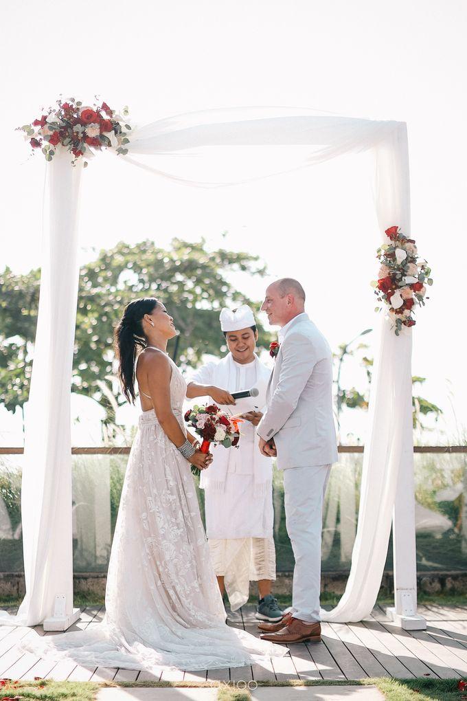 Modern Playful Wedding in Seminyak Bali by Hotel Indigo Bali Seminyak Beach - 007