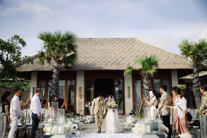 Alfian and Jessliyn Wedding by Six Senses Uluwatu, Bali - 002