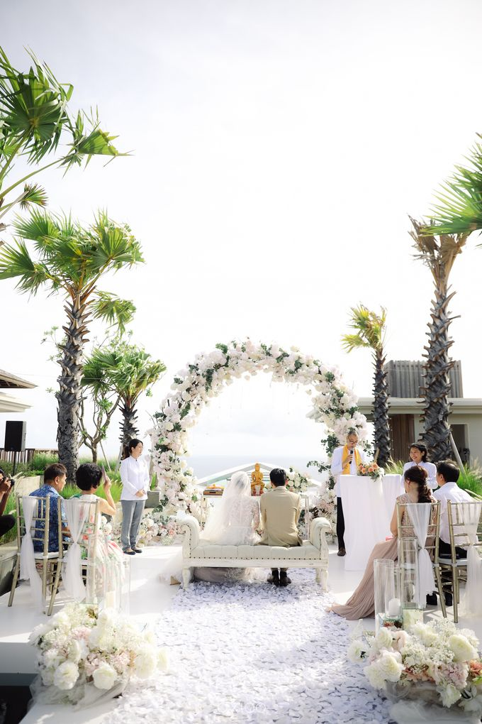 Alfian and Jessliyn Wedding by Six Senses Uluwatu, Bali - 020