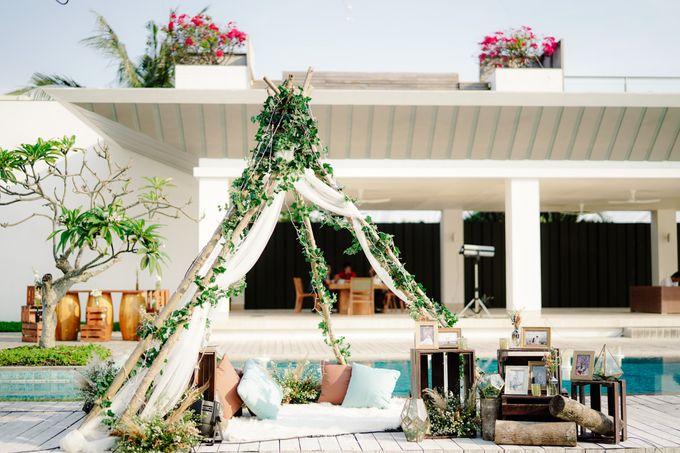 Playful Elegant Beach-front Wedding in Bali by Silverdust Decoration - 029