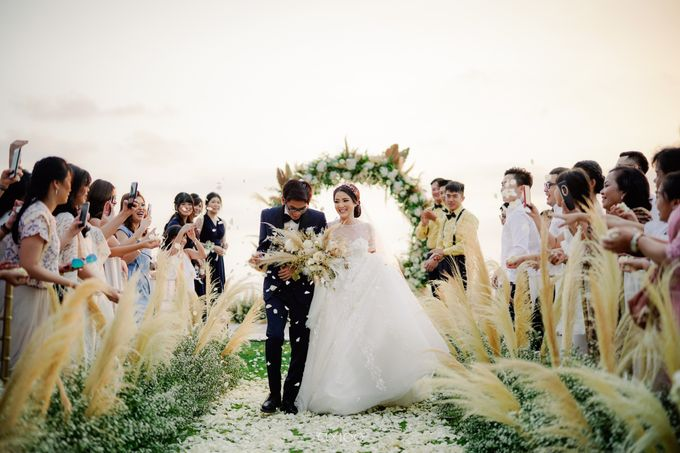 Playful Elegant Beach-front Wedding in Bali by Silverdust Decoration - 031