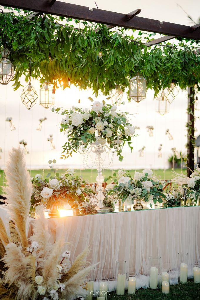 Playful Elegant Beach-front Wedding in Bali by Silverdust Decoration - 032