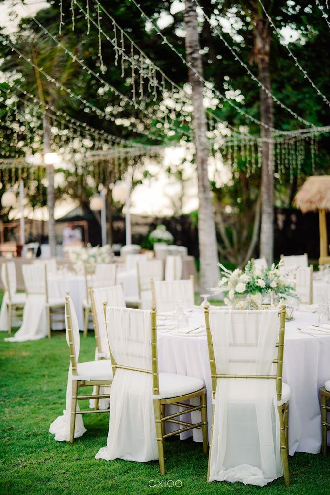 Playful Elegant Beach-front Wedding in Bali by Silverdust Decoration - 033