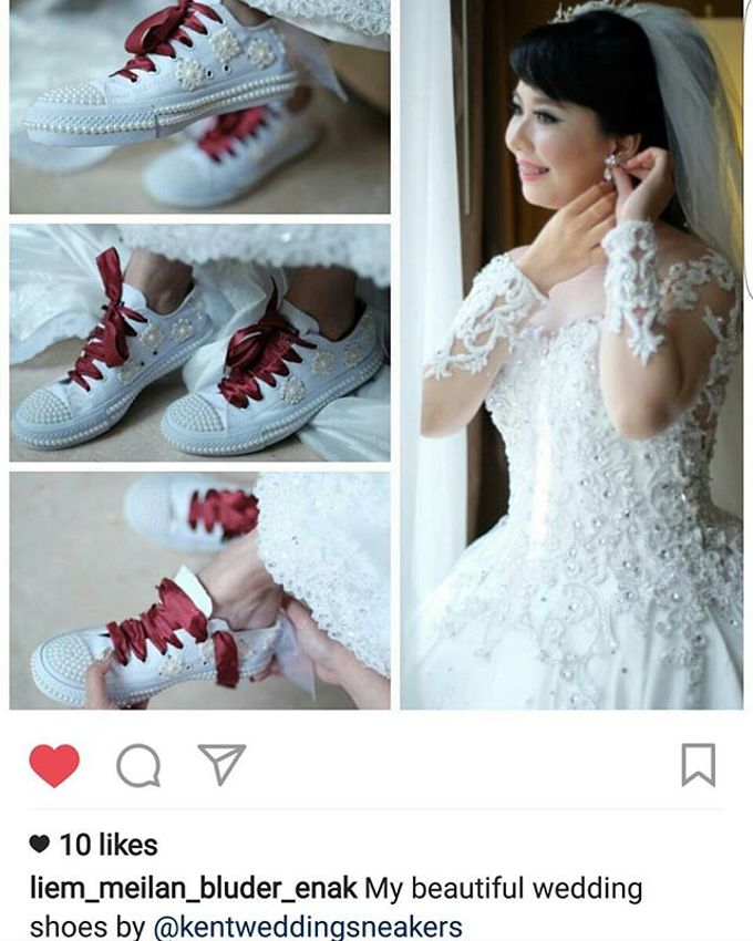 Thank You Our Lovely Customers by Kent Wedding Sneakers - 003