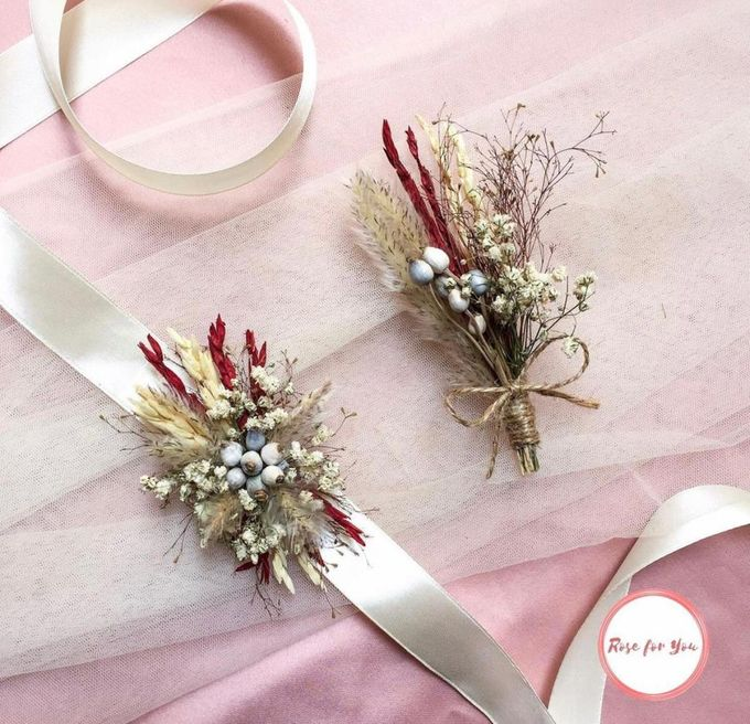 Boutonniere & Corsage by Rose For You - 003