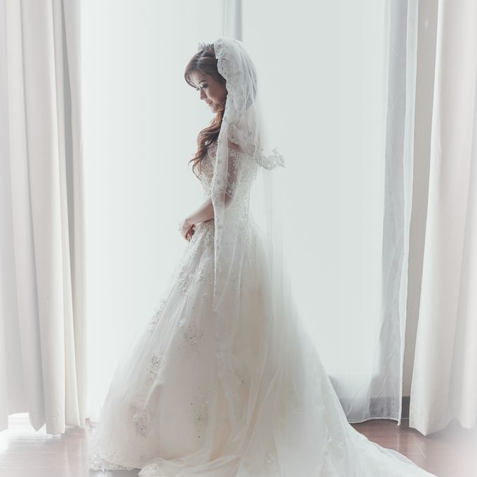The Romance Wedding of Albert & Erissa by Khayim Beshafa One Stop Wedding - 004