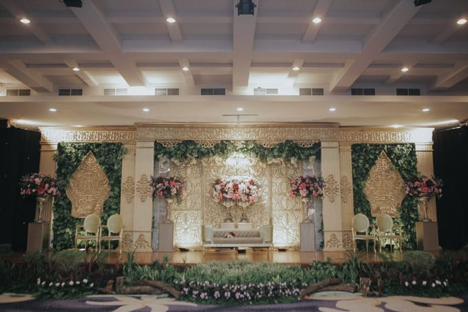 Uty & Akbar Wedding by HIS LIPI by Alfabet Catering - 005