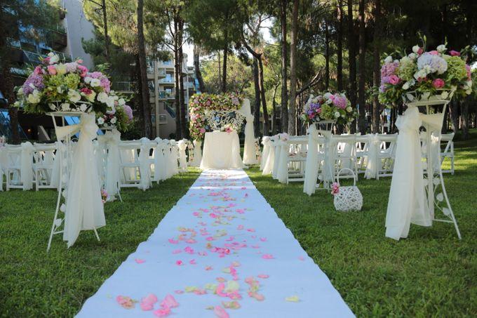 Tatyana & Vladimir Kazakh Wedding in Antalya by Wedding City Antalya - 004