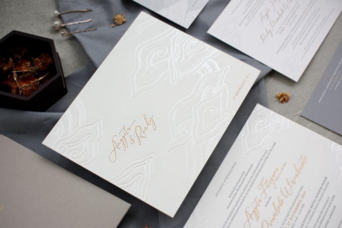 Anggita & Rizky by The Fine Press - 003