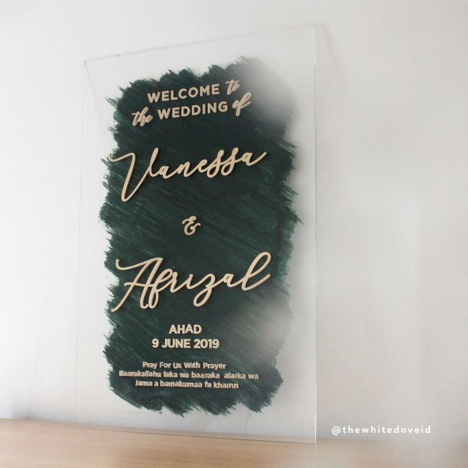 Wedding Sign by The White Dove - 009