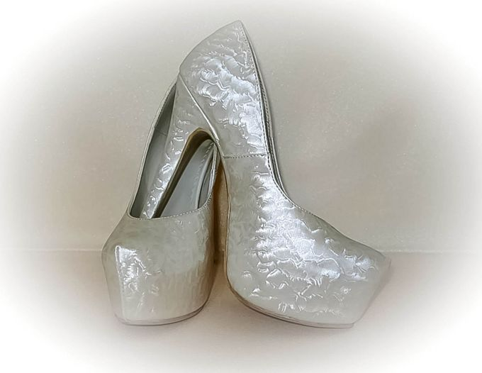 BRIDAL SHOES by Pamela Falli - 011