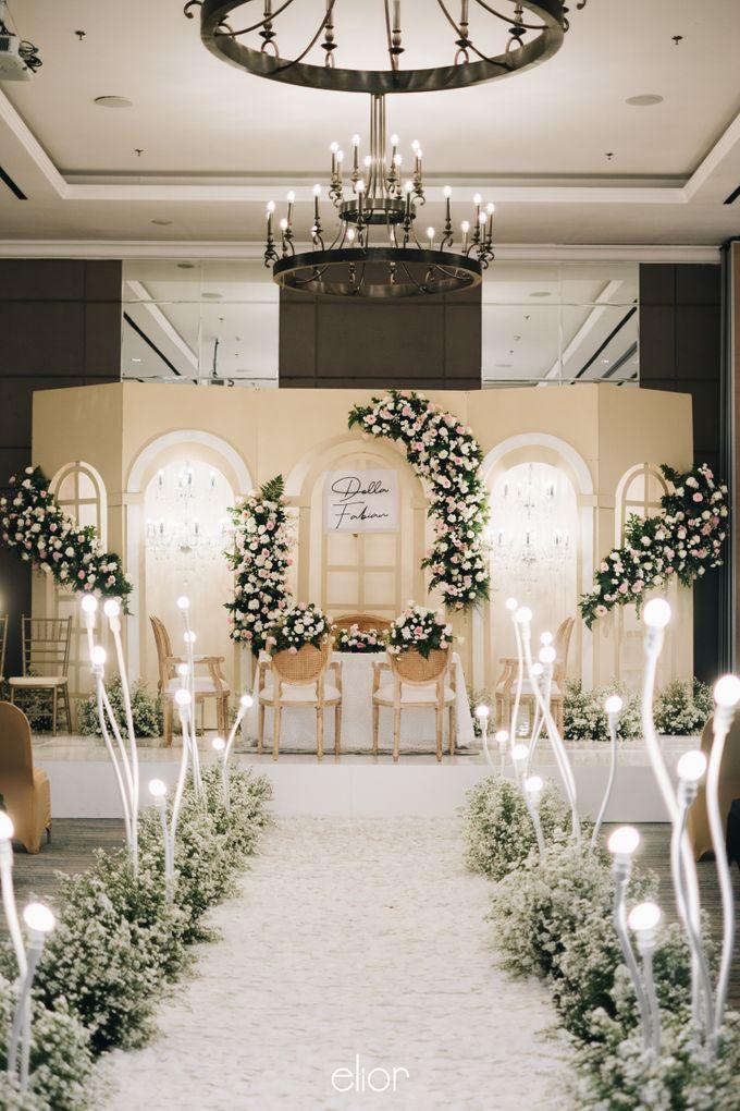 The Wedding Of Della and Fabian by Elior Design - 001