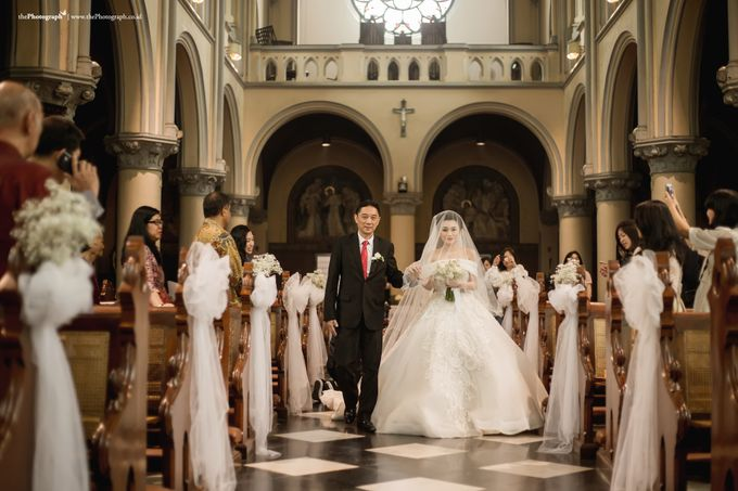 The Wedding of Nico and Nerissa by Mandarin Oriental, Jakarta - 002