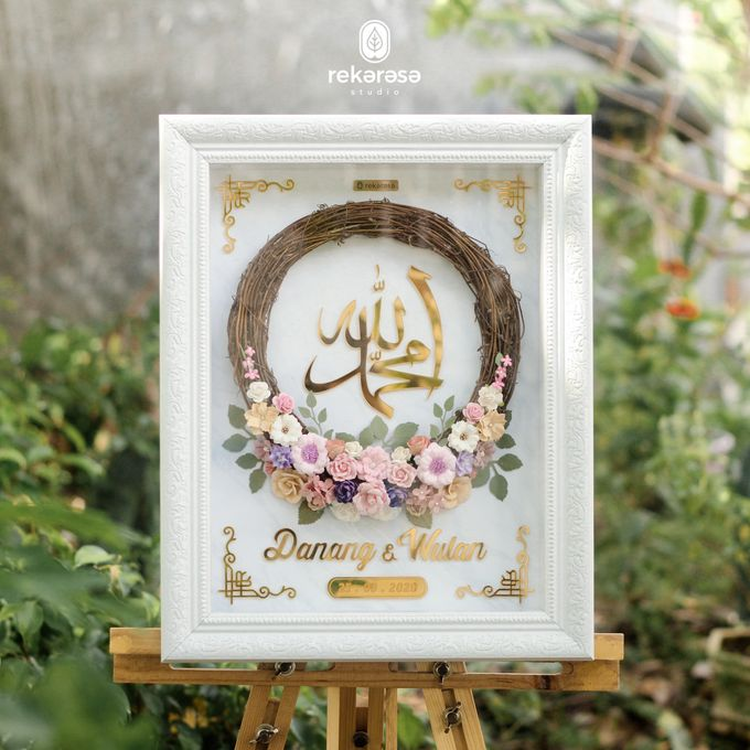 Mahar Wreath Rustic by Rekarasa Studio (Mahar) - 001