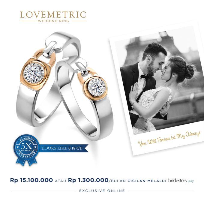 Wedding Ring Lovemetric Series by Adelle Jewellery - 002
