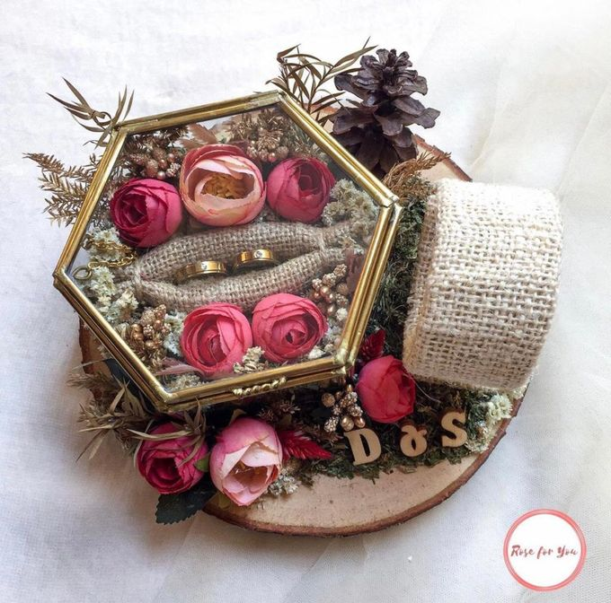 Ring Box by Rose For You - 003