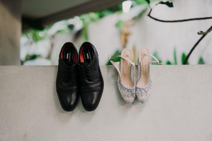 Dheafina & Nur Wedding at Azila Villa by AKSA Creative - 003