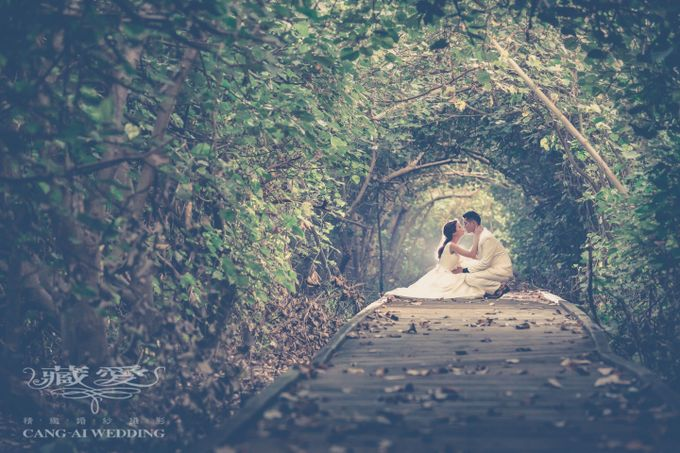 Uniquely Taiwan by Cang Ai Wedding - 003