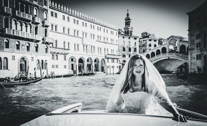 Luxury wedding in Venice by CB Photographer Venice - 007
