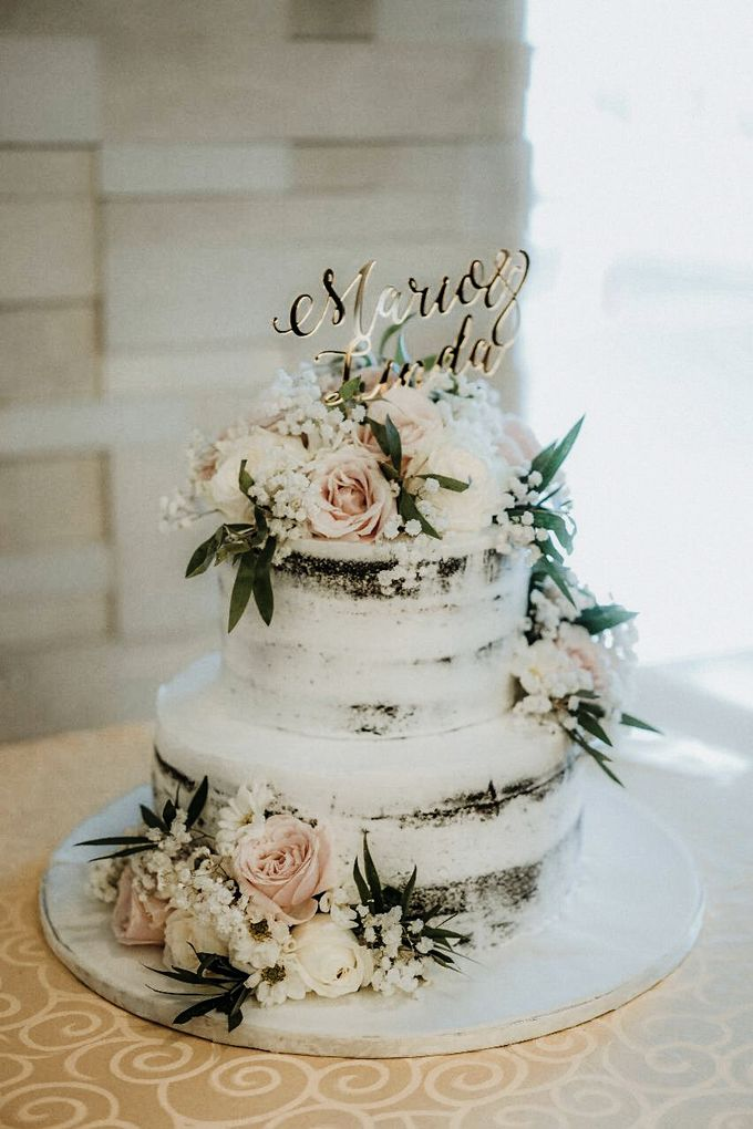 Two Tiers by Gordon Blue Cake - 007